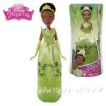 КУКЛА Тиана от серията Дисни Принцеси, Disney Princess Royal Shimmer Doll Tiana, B5823