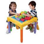 Маса за игра с 2 столчета и тухлички My table play - 2245