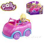 Polly Pocket Convertible Cabriolet  Mattel, X4006