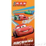 (70x140cm) Cars beach towel, Raceway, B62253
