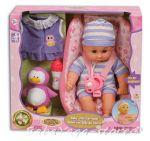 БЕБЕ-кукла 30cm с кощница за кола, Baby with Car-seat от серията Dream Collection, 29221