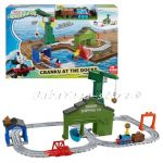 Thomas and Friends Игрален комплект Cranky at the Docks от серията Adventures, DVT13