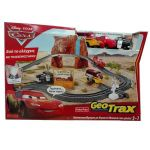 Disney Cars2 ПИСТА с колички GeoTrax, Fisher Price, R6301