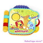 Bright Starts Musical toy Little adventures book, 8979