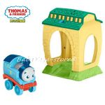 Забавна играчка-прожектор Thomas and Friends My First Get Up & Glow Thomas Night Light, FFX55