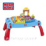 MEGA BLOKS Маса за игра с блокчета, (30ч.) 08237