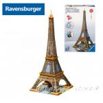 Ravensburger 3D ПЪЗЕЛ Световни забележителности: Айфелова кула, Eiffel Tower