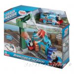 Fisher Price Thomas & Friends Demolition at the Docks set TrackMaster, DVF73