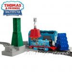 Fisher Price Игрален комплект Разрушаване на доковете, Thomas & Friends Demolition at the Docks от серията TrackMaster, DVF73