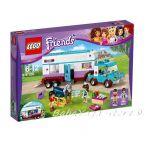 ЛЕГО ФРЕНДС Ветеринарна каравана за коне, LEGO Friends Horse Vet Trailer, 41125
