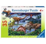 Ravensburger Puzzle 8613 - Dinosaur Playground 35p