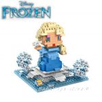 Конструктор мини Замръзналото кралство Елза, Micro block Elsa Frozen