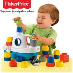 Fisher Price Little People Builders Floaty Boat, M6632