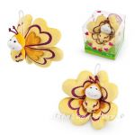 Trudi Stuffed Animal plush toy Butterfly, Sweet Collection, 29411