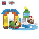 Mega Bloks Thomas & Friends Депо за почистване с Пърси, Sodor Wash Down, CNJ12