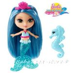 Barbie Русалка мини с водно конче, Mini Mermaid, W2891