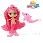 Barbie Русалка мини с делфин, Mini Mermaid, W2890