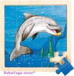 Wild Republic Jigsaw Puzzle Dolphin (20pcs), 66852