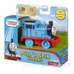 Fisher Price Влакче ТОМАС Thomas & Friends Pullback & Spin THOMAS, Pres-School, BCX66