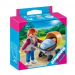 Playmobil Special: Фигурка Мама с детска количка и бебе Mum with pushchair, 4756