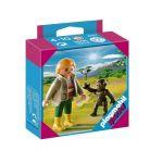 Playmobil Special: Фигурки Треньор с горила бебе Animal Trainer with Gorilla Baby, 4757