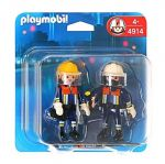 Playmobil Pirates: Action Fire Rescue Squad Duo Pack, 4914
