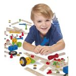 Eichhorn Wooden Construction Set, 100039024