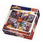 Trefl Пъзел Спайдърмен 4в1 (207ч.), Spiderman Trefl puzzle, 34293
