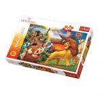 TREFL ПЪЗЕЛ за деца (100ч.) Приключенията на Симба, Disney The Lion king, 16359