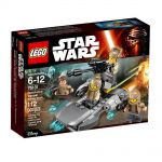 LEGO STAR WARS Resistance Trooper Battle Pack, 75131
