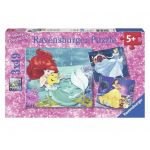 Ravensburger puzzle (3x49) Disney Princess, 09350