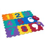 Мек пъзел за под Цифри (9 ч.), 31х31 см., Foam puzzle Numbers (9pcs.), 1161887