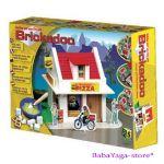 Строител с тухлички ПИЦАРИЯ от Brickadoo - 20906