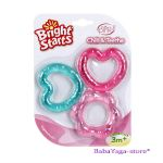 Bright Starts Гризалка с формички Chill & Teethe Teething Toy, 8673