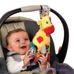 Bright Starts ЖИРАФ дрънкалка Sensory Jirafe Start your Senses, 8976
