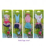 Simba - Steffi Love ДРЕХИ за кукла Стефи лятна мода (6 вида) - 5720869