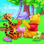 Мека книжка за баня Disney, Bath baby book, Winnie the Pooh, 92F