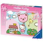 Ravensburger ПЪЗЕЛ за деца с героите на  Дисни (2 х 20ч.) Hello Kitty - 091676