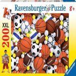 Ravensburger ПЪЗЕЛ за деца (200ч.) Спортни Топки - 126743