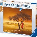 Ravensburger ПЪЗЕЛ за деца (500ч.) Африкански Масаи - 141456