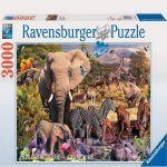 Ravensburger ПЪЗЕЛ за деца (3000ч.) Животински свят в Африка - 170371
