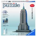 Ravensburger 3D ПЪЗЕЛ Световни забележителности Емпайър Стейт Билдинг, Empire State Building 125531