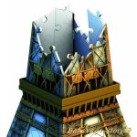 Ravensburger 3D ПЪЗЕЛ Световни зaбележителности: Айфелова кула, Eiffel Tower, 125562