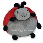 17351 Декоративна възглавница КАЛИНКА от CloudB, Ladybug Pouf