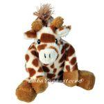 Дрънкалка плюшена ЖИРАФ Baby Rattle Giraffe CloudB - 7361
