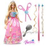 Barbie КУКЛА Барби с кичури от Мател, T7361-T7362